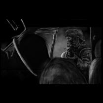Marine, SAW, and a zombie