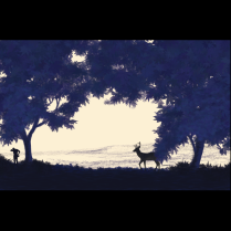 Composition Study: Stag